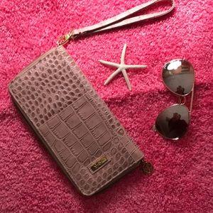 Jessica Simpson faux leather wallet
